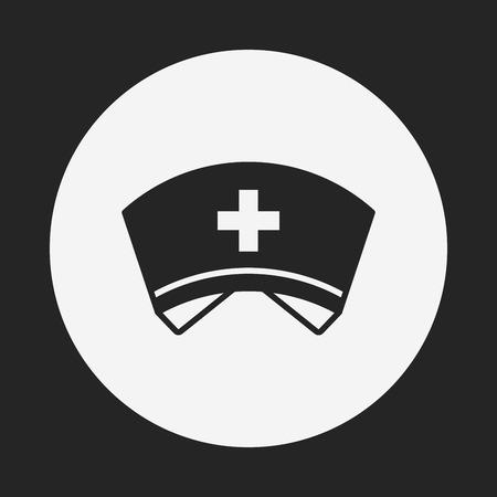 nursing clothes: nurse hat icon