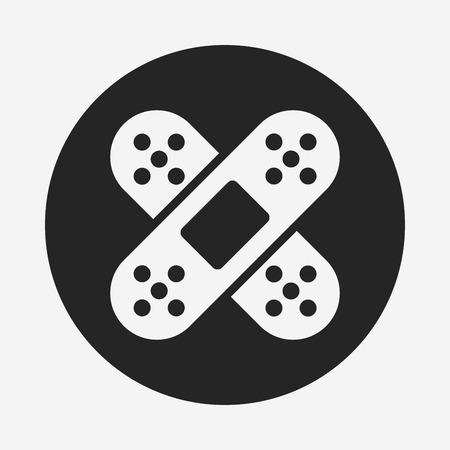obvaz: bandage icon Ilustrace