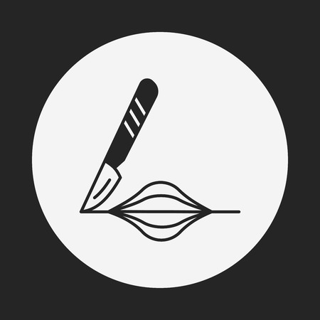 Scalpel icon Vector