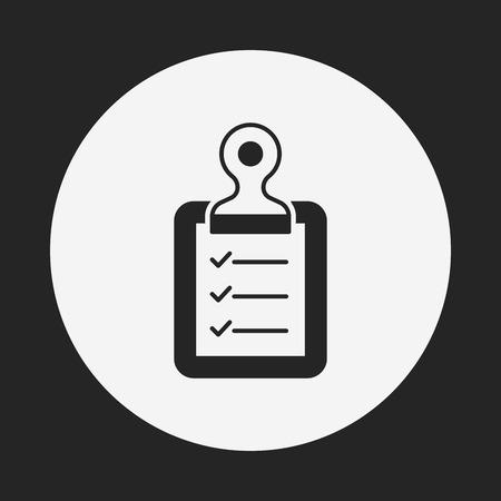 report icon: medical file icon
