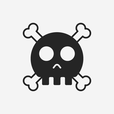 skull icon: halloween skull icon