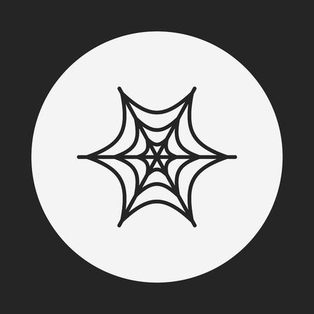 halloween spider: halloween spider icon