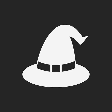 wizard hat: halloween witch hat icon