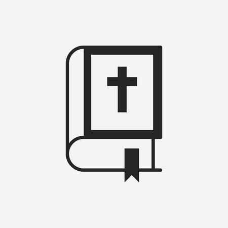 bible: bible icon Illustration