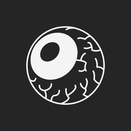 eyeballs: halloween eyeballs icon