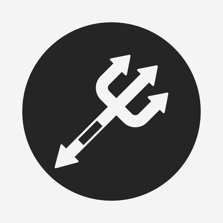 scythe: icono de la guadaña de Halloween