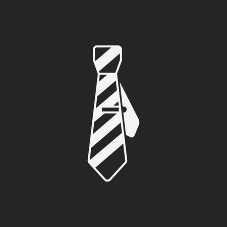 formal party: Necktie icon Illustration