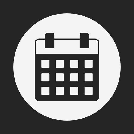 calendar icon 向量圖像
