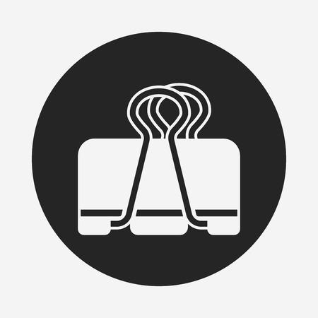 바인더: Binder Clip icon