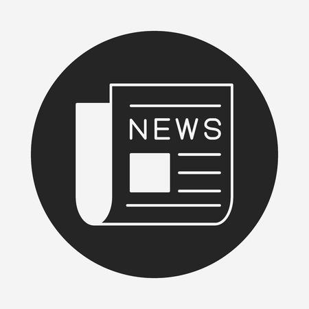 newsprint: news icon