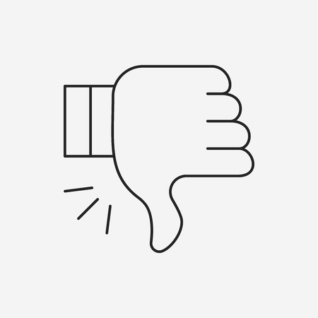 dislike: dislike icon