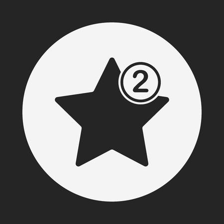 favorite: web favorite icon Illustration