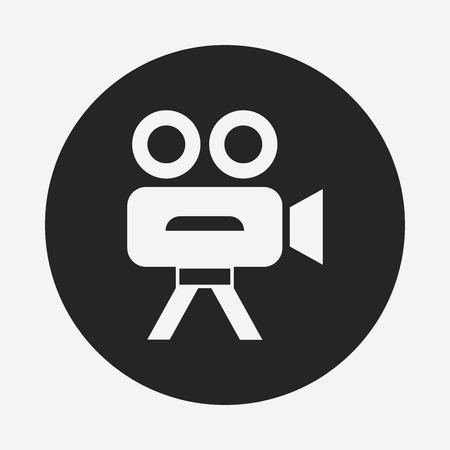 video cam icon Illustration