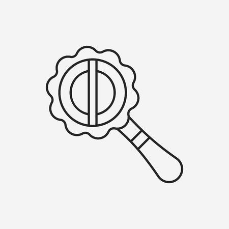 sonaja: icono sonajero juguete