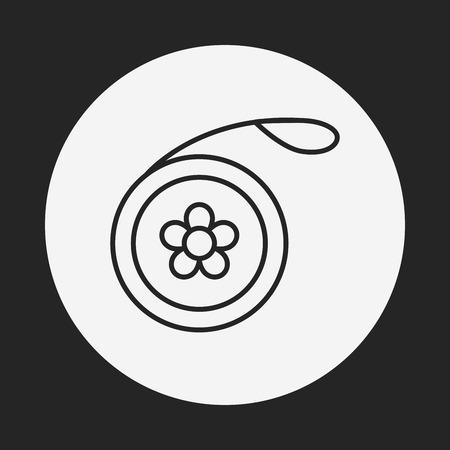 play yoyo: toy yo-yo icon