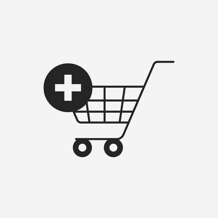 shopping cart icon: web shopping cart icon