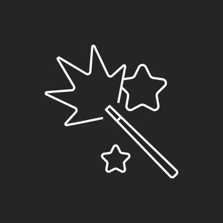 cracker: birthday cracker line icon