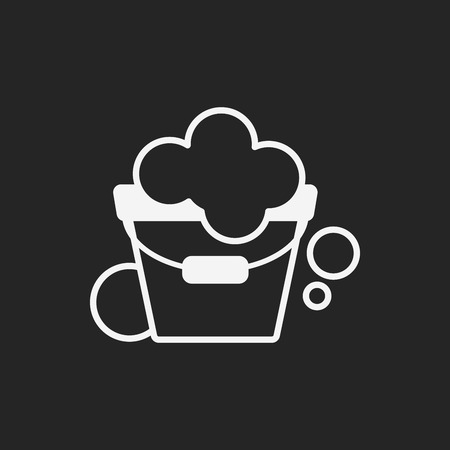 cleanup: water bucket icon