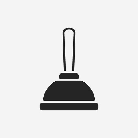 plunger: plunger icon Illustration