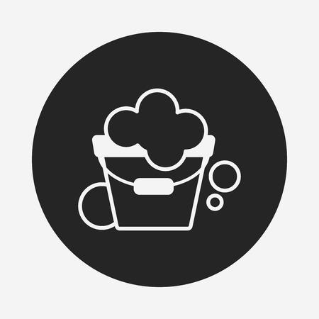 water bucket: water bucket icon