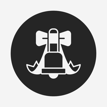 christmas icon: Christmas bell icon