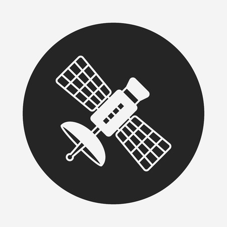 Space Satellite icon Vector