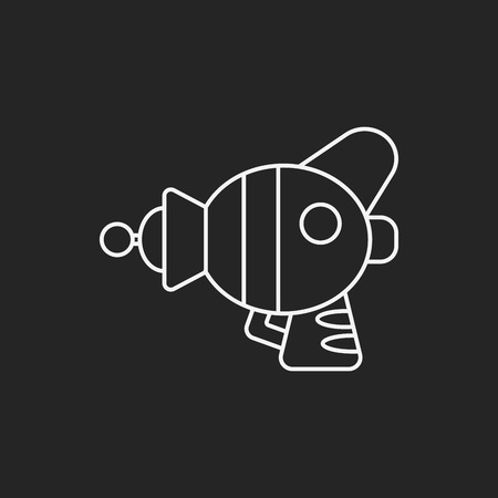 raygun: Space Gun line icon