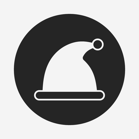 christmas icon: Christmas hat icon