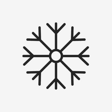 Sneeuwvlok icoon