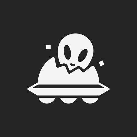 alien symbol: Space Alien icon