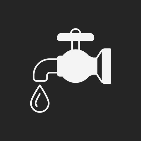 conserve: Environmental protection concept conserve water icon Illustration