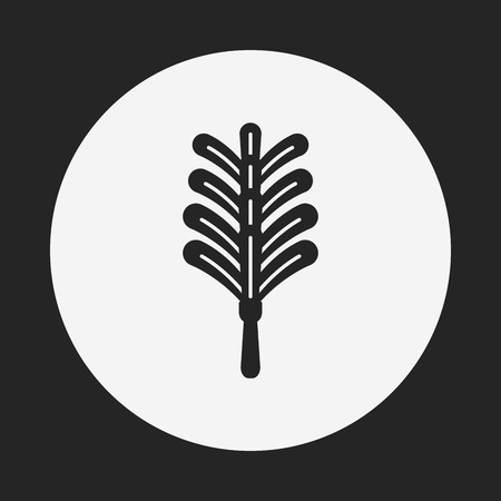 feather duster: feather duster icon