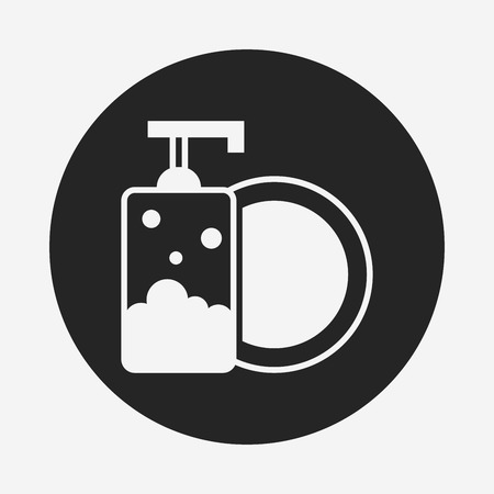 lejia: Detergentes icono Vectores
