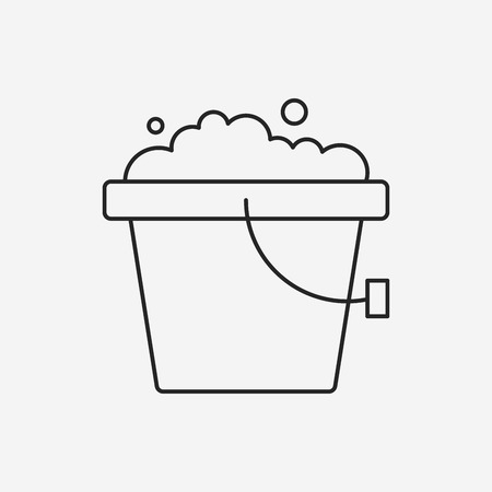 bucket water:
