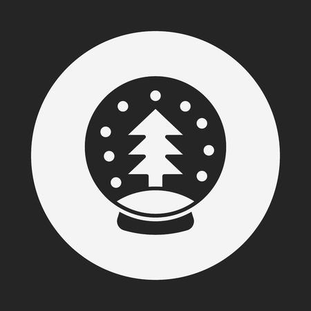 christmas icon: Christmas tree icon