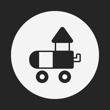 toy block: toy Educational Block icon Illustration