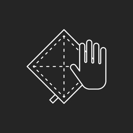 rag: rag icon Illustration