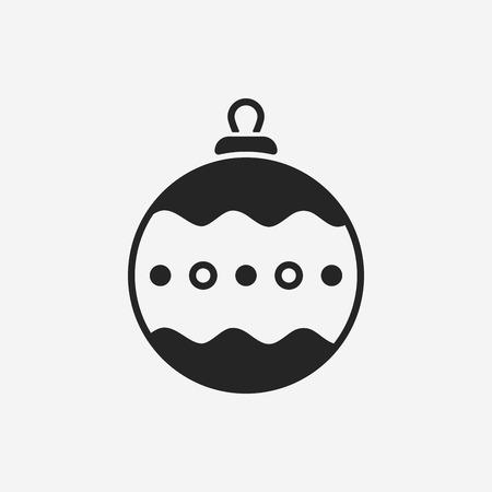 christmas icon: Christmas hanging icon