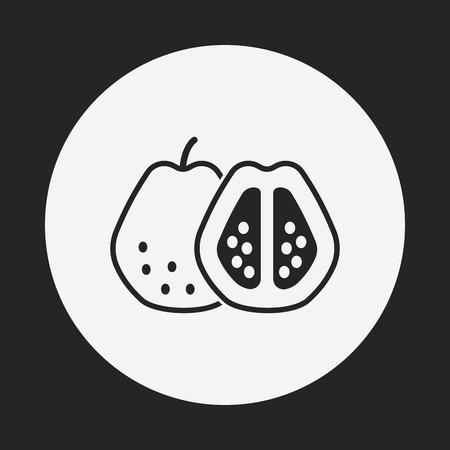 guayaba: icono de las frutas de guayaba