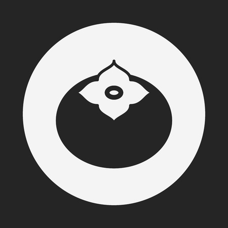 persimmon: fruits Persimmon icon