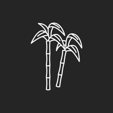 fruits sugar cane icon