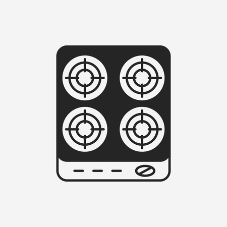 burners: gas stove icon