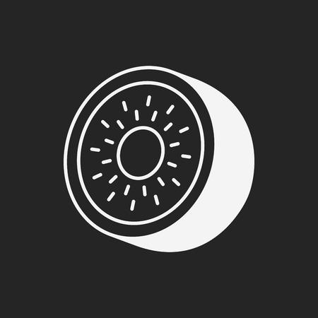 kiwi: fruits kiwi icon