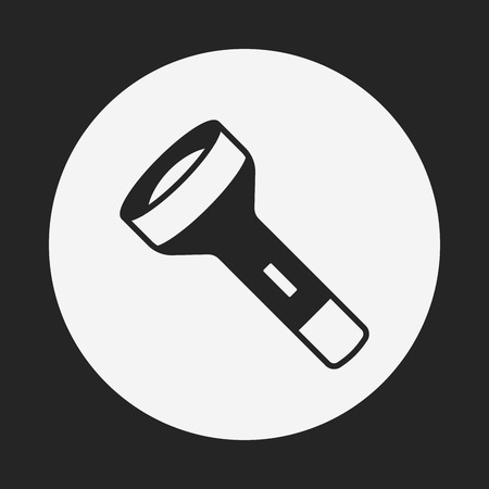 flashlight: flashlight icon Illustration