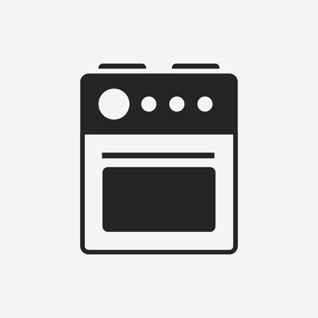 oven icon Illustration