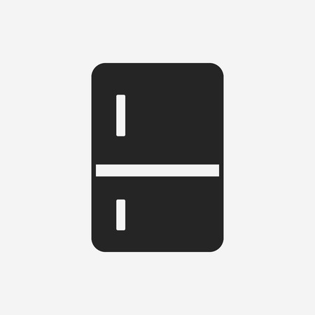 home products: refrigerator icon