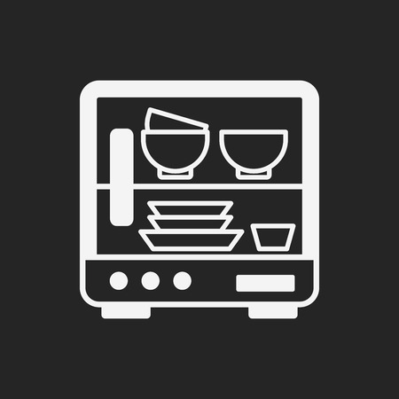 dishwasher icon Vector
