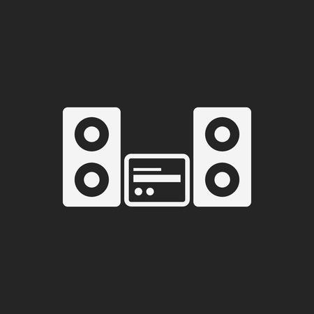 stereo icon Vector
