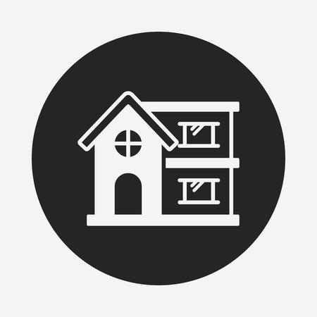 building: building icon Illustration
