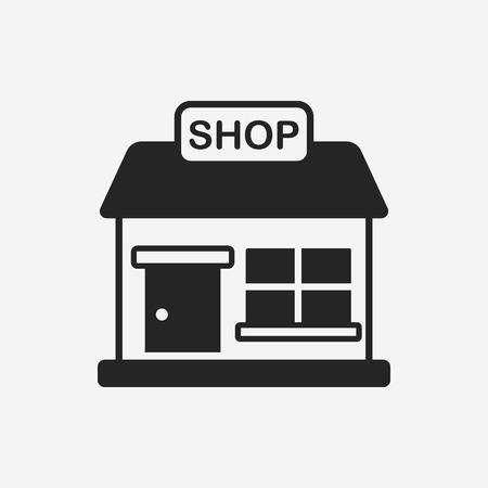 tienda de la tienda icono